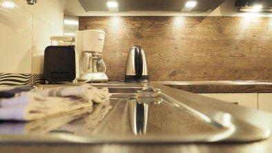 Küche App. Amberg, © Gästehaus Hackl