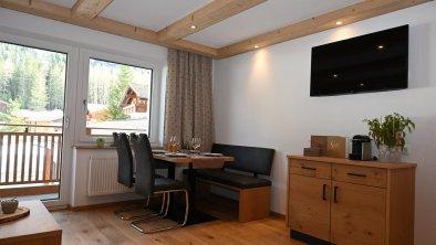 Apart Bergblick - Wohnbereich