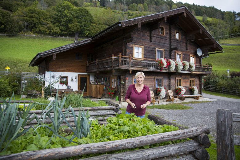 Regina Berger baut ihr Gemüse selbst an.