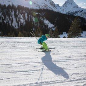 Amelie Ogris fährt am liebsten Schuss, © Tirol Werbung/Lisa Hörterer