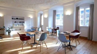 Frühstücksraum Boutiquehotel Hall in Tirol kontor