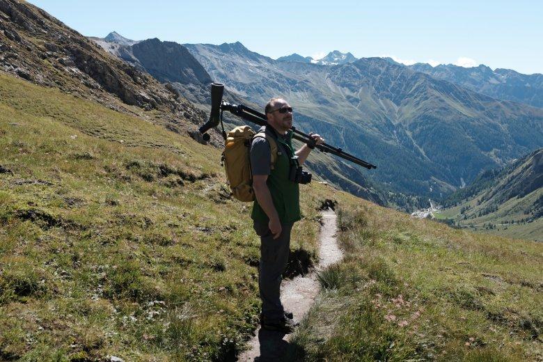 mit einem Ranger des Nationalparks Hohe Tauern an unserer Seite machen wir uns am Fuße des Großglockners auf die Suche nach den Big 5.