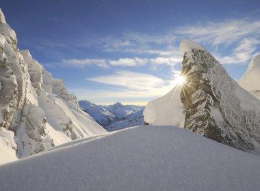 Berge. Sonne. Schnee. Herz, was begehrst du mehr?!