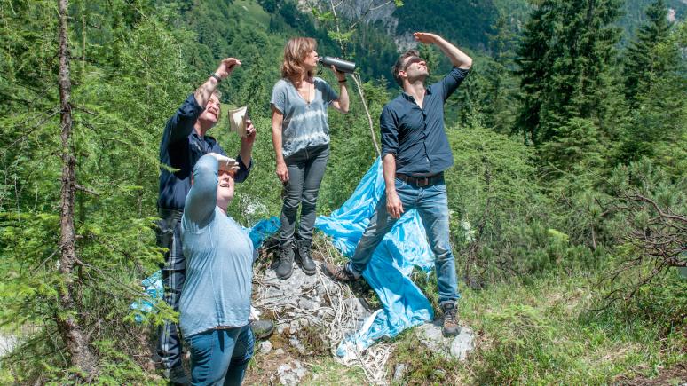 "Dreharbeiten zu ""SOKO Kitzbühel"" in Kitzbühel, © ORF"