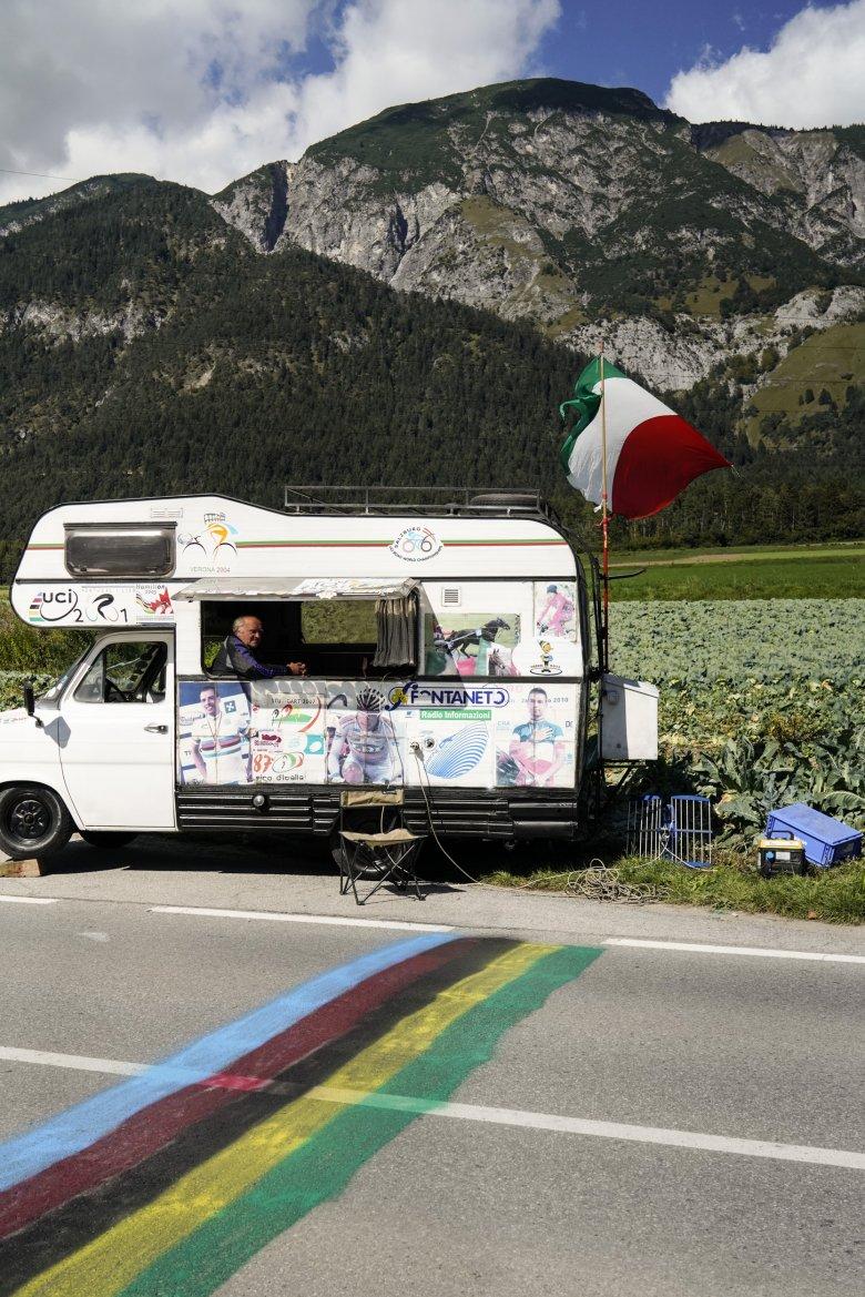Ein eingefleischter Rad-WM-Fan aus Italien