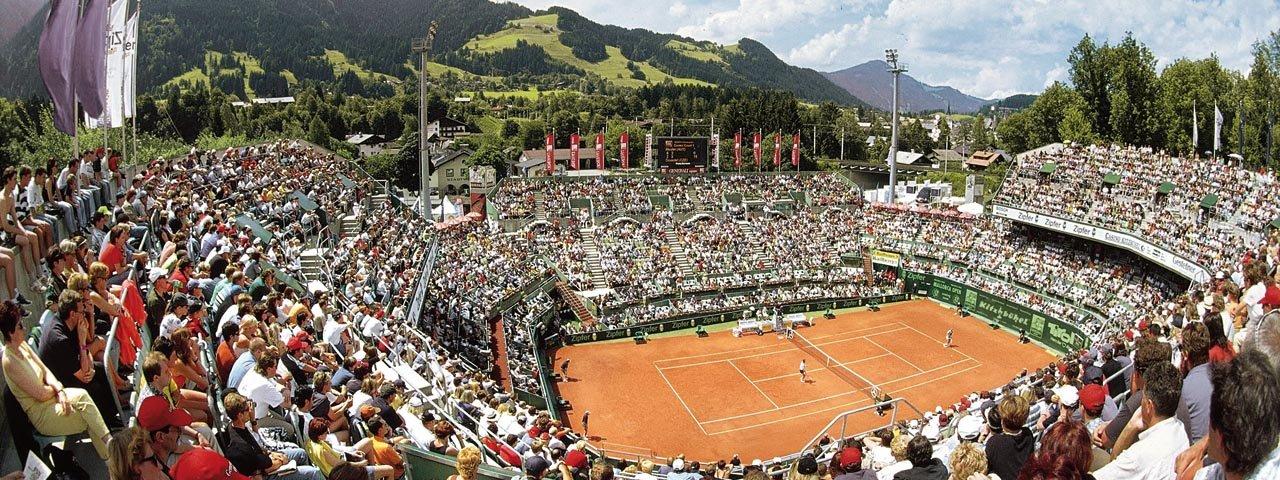 Tausende Tennisbegeisterte werden zur Generali Open in Kitzbühel erwartet, © Kitzbühel Tourismus