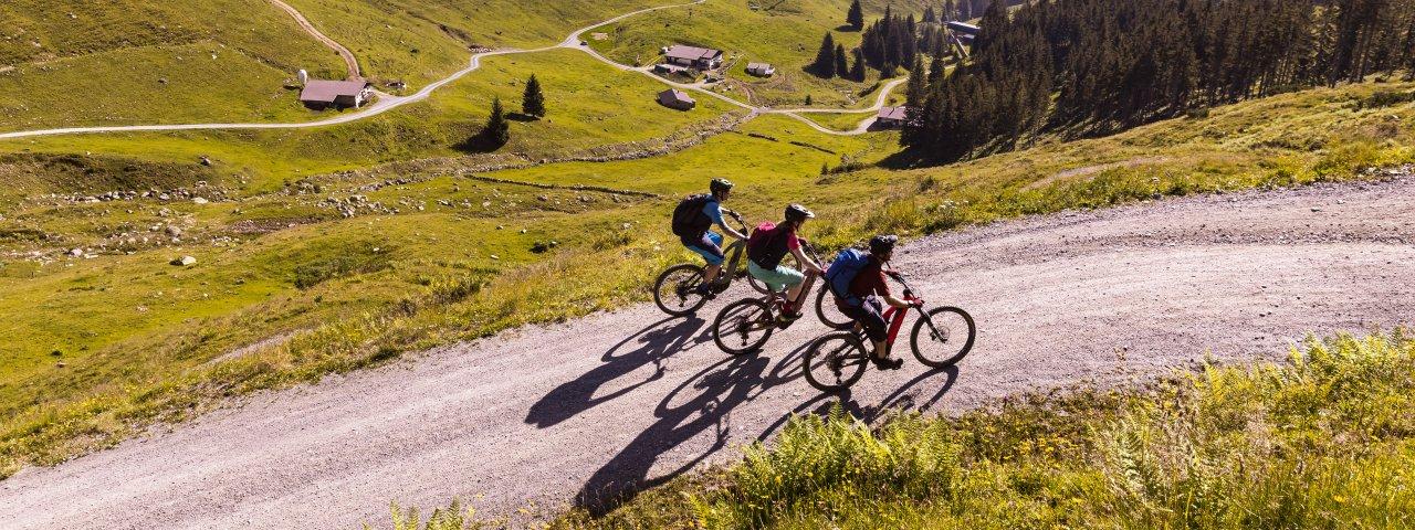 Mountainbiken im Pillerseetal ist schön. , © TVB Pillerseetal