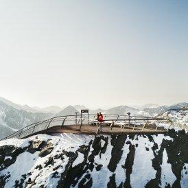 "Gipfelplattform ""Top of Tyrol"" am Stubaier Gletscher, © Andre Schönherr"