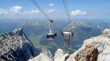 Tiroler Zugspitzbahn, © Somweber