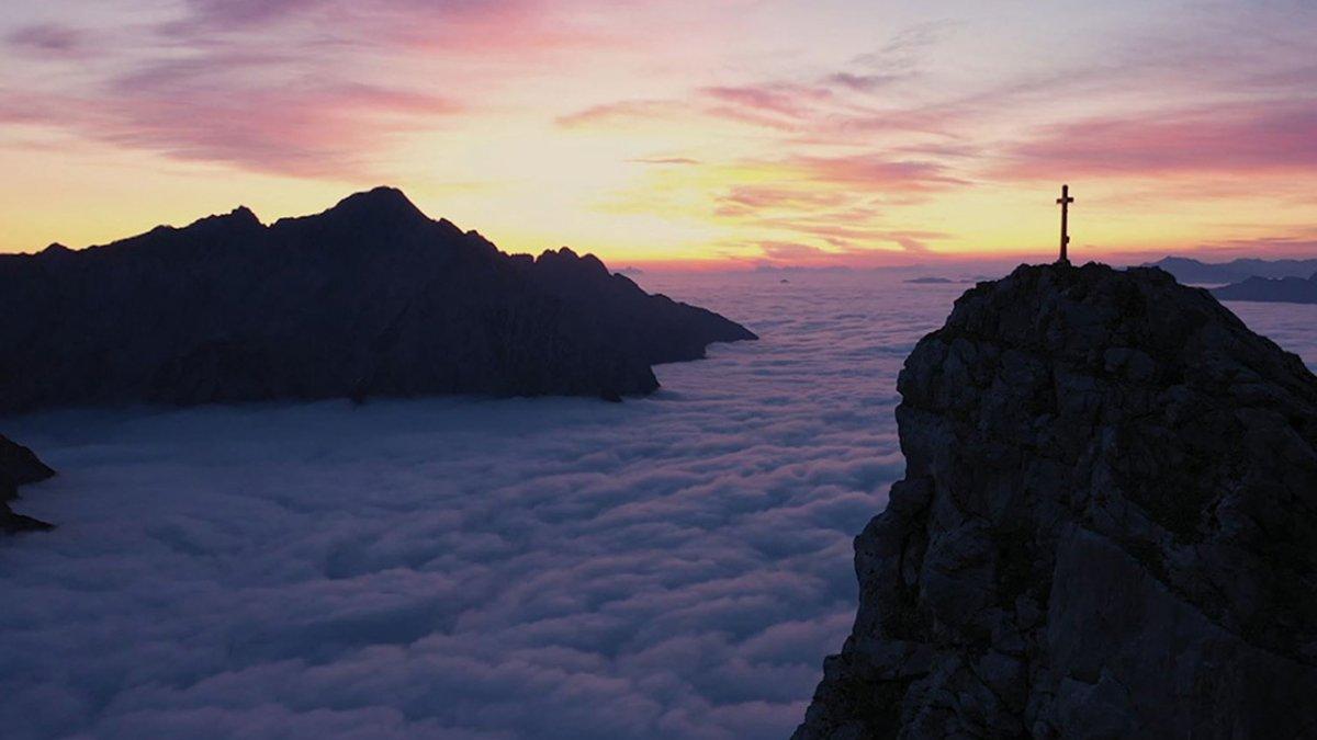 Tirol von oben
