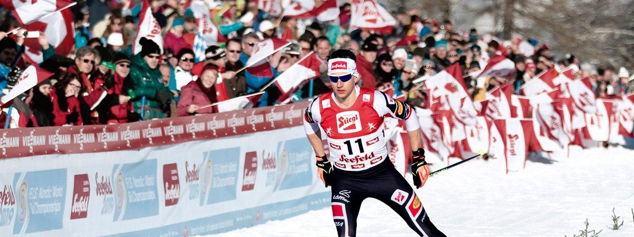 FIS Nordische Ski-WM 2019 in Seefeld in Tirol, © Olympiaregion Seefeld/Erich Spiess