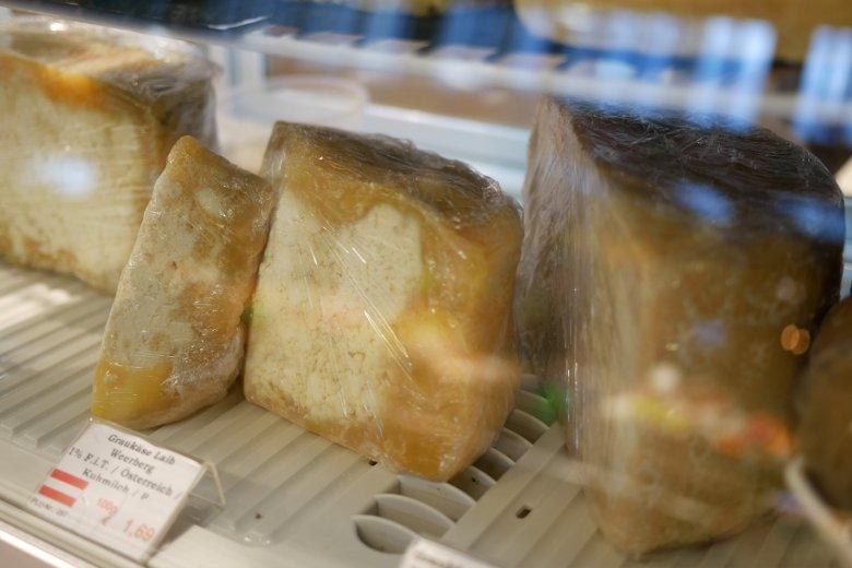 """""""Speziell"""" nennt der Käse-Sommelier die Optik von Graukäse."""