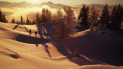 Morgenstimmung_Winteridylle_über_dem_Alpbachtal, © Alpbachtal Tourismus / Berger Bernhard