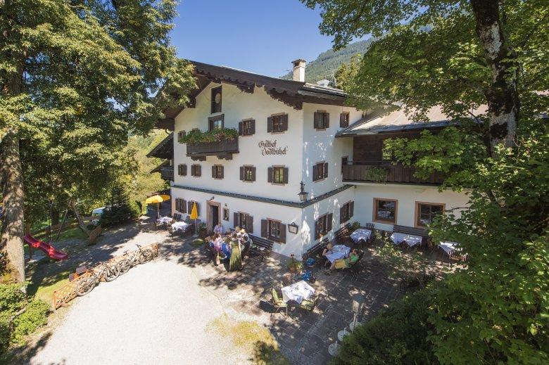 Der Gasthof Jodlbühel bei Jochberg ist Mitglied bei den Tiroler Wirtshäusern.