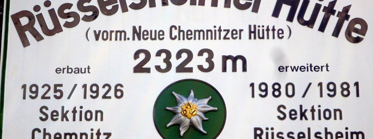 Rüsselsheimer Hütte, © Tirol Werbung/Ines Mayerl