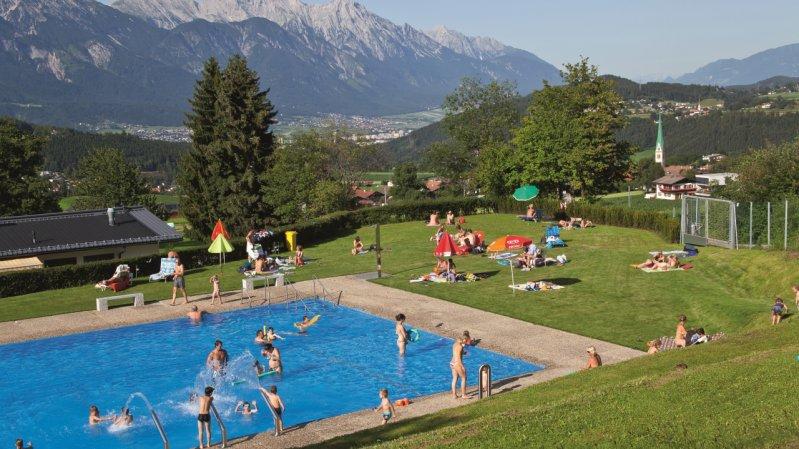 Freibad in Mutters, © Innsbruck und seine Feriendörfer / Christoph Lackner