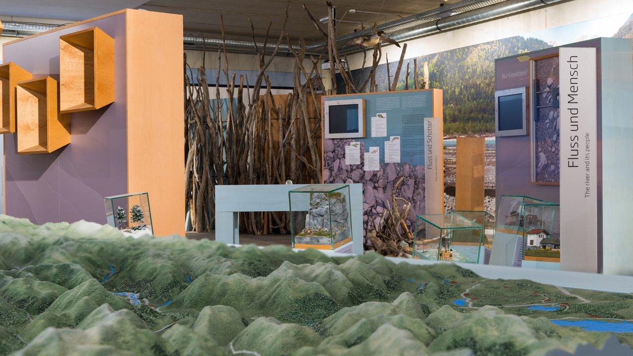 """Ausstellung """"Der letzte Wilde"""", © Naturpark Tiroler Lech / Andreas Schindl"""