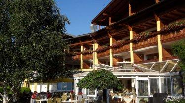 Hotel Alpenhof Brixen - Terrasse