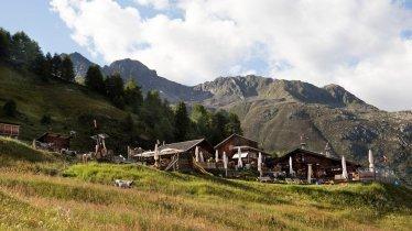 Die Gampe Thaya in den Ötztaler Alpen