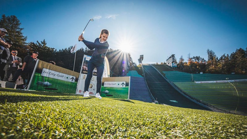In City Golf Innsbruck 2021, © Curtes Sportevents Marketing
