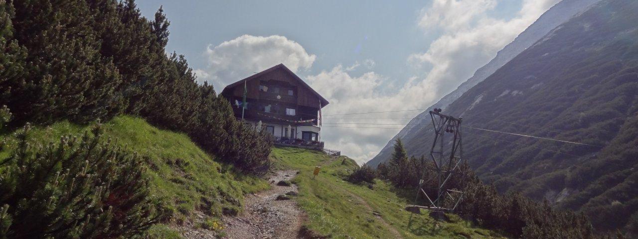 Adlerweg-Etappe 14:Solsteinhaus, © Tirol Werbung/Johne Katleen