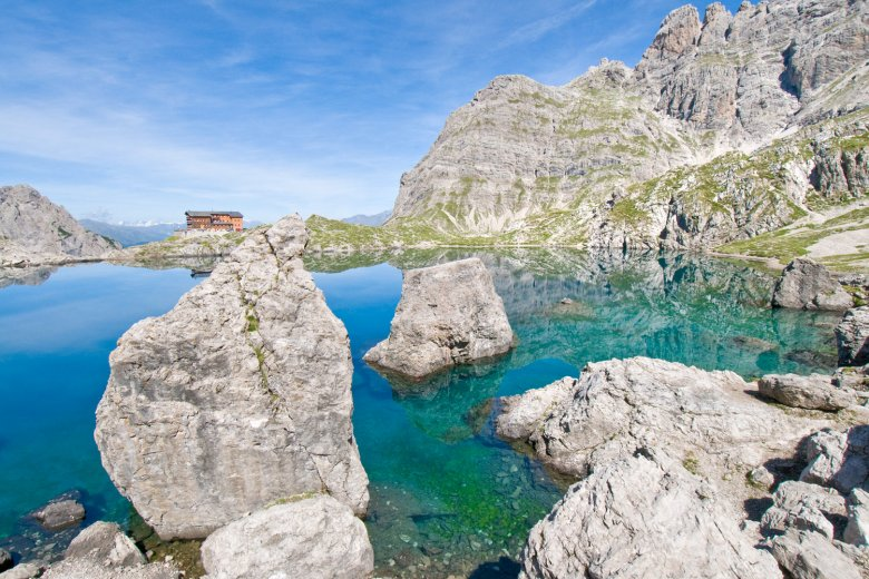 Laserzsee und Karlsbaderhütte. , © TVB Osttirol - Leischner