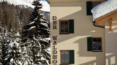 Der Waldhof Außenansicht Winter