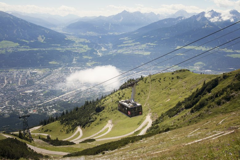 Innsbruck, Nordkette, Seegrube