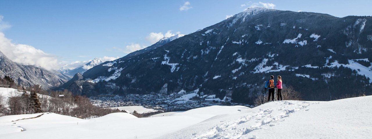 Schneeschuhwanderung auf den Genussberg Venet, © Tirol West/Daniel Zangerl