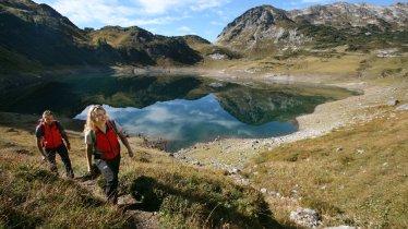 Starting out at the Formarinsee lake, © Verein Lechwege/Gerhard Eisenschink