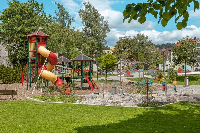 Spielplatz Stadtpark in Kufstein © Standortmarketing Kufstein