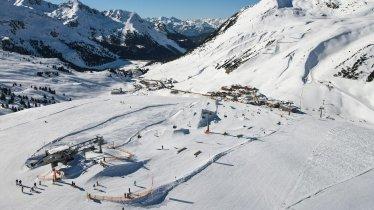 Snowpark im Kühtai, © K-Park Kühtai