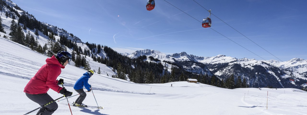 Skifahren im Tannheimer Tal, © Wolfgang Ehn