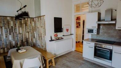 Weitere Ansicht Küche - Essbereich