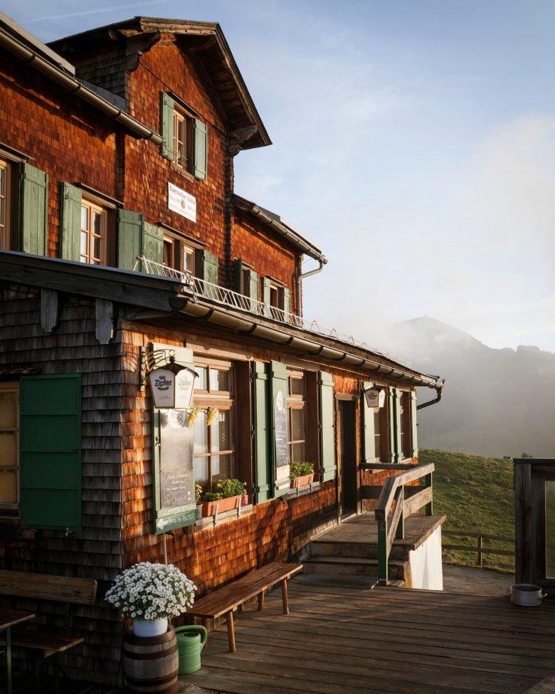 Die Bayreuther Hütte. , © Tirol Werbung, Jens Schwarz