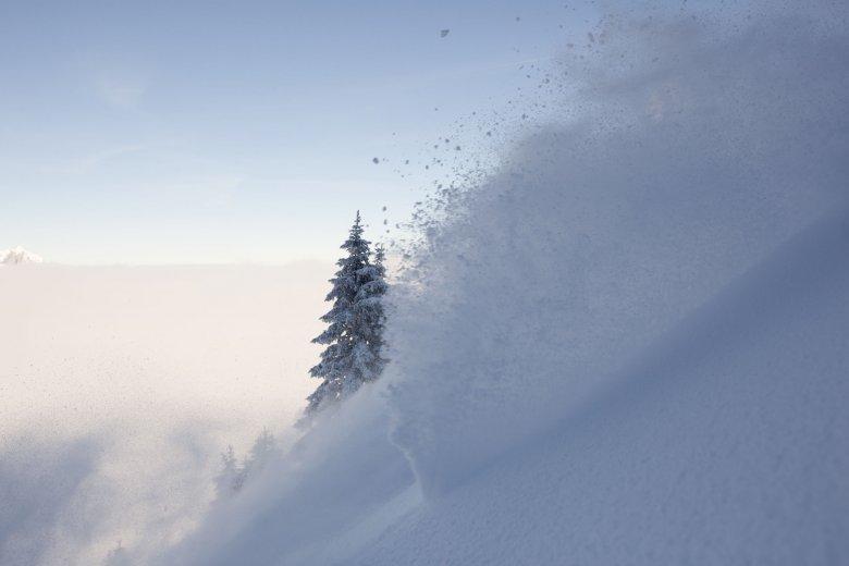 Es gibt nicht nur Kunstschnee, sondern auch Schneekunst..