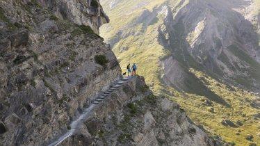 Drischlsteig vom Alpjoch bis zur Muttekopfhütte