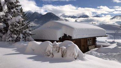 Gartenhaus Winter, Bergpanorama