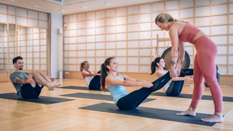 Yoga Kurse im Alpenresort Schwarz, © Alpenresort Schwarz
