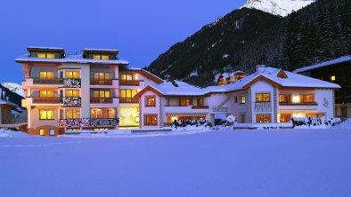 Hotel Montanara Ischgl Außenansicht