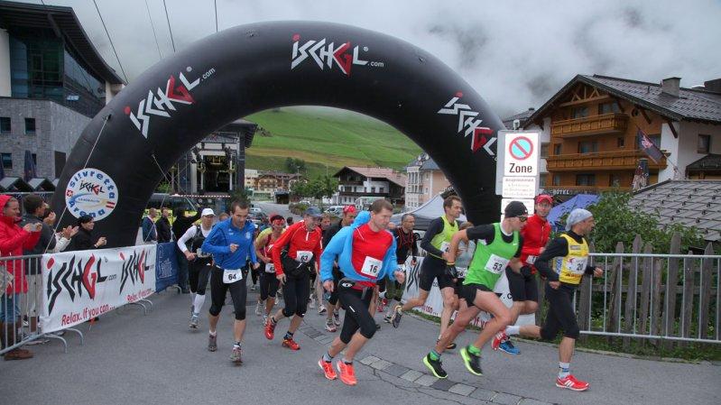 Der Silvrettarun 3000 startet in Ischgl, © TVB Paznaun-Ischgl