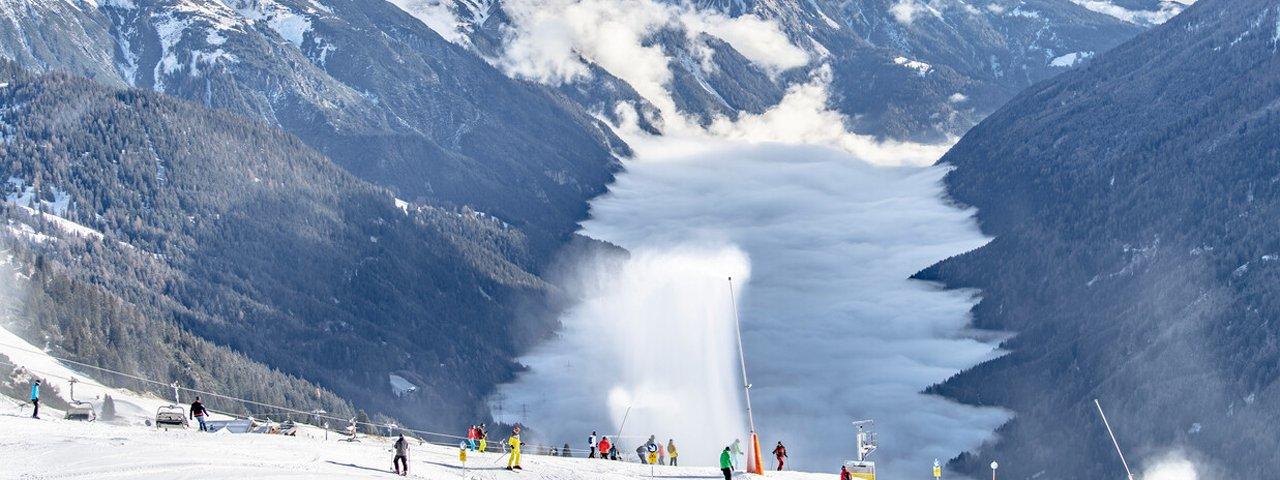 Skifahren in St. Anton am Arlberg, © TVB St. Anton am Arlberg / Patrick Bätz