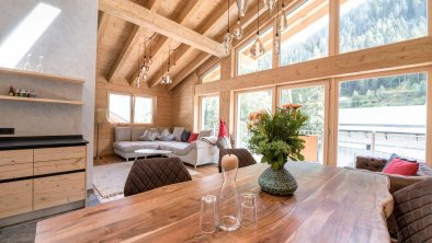 Penthouse Lilie_Wohn-/Essbereich - ALPtyrol, © ALPtyrol