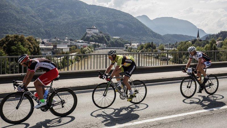 Der Kufsteinerland Radmarathon startet in der Festungsstadt Kufstein, © Sportalpen Marketing