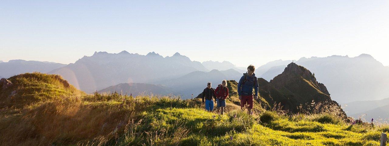 Wandern in den Kitzbüheler Alpen, © Tirol Werbung/Robert Pupeter