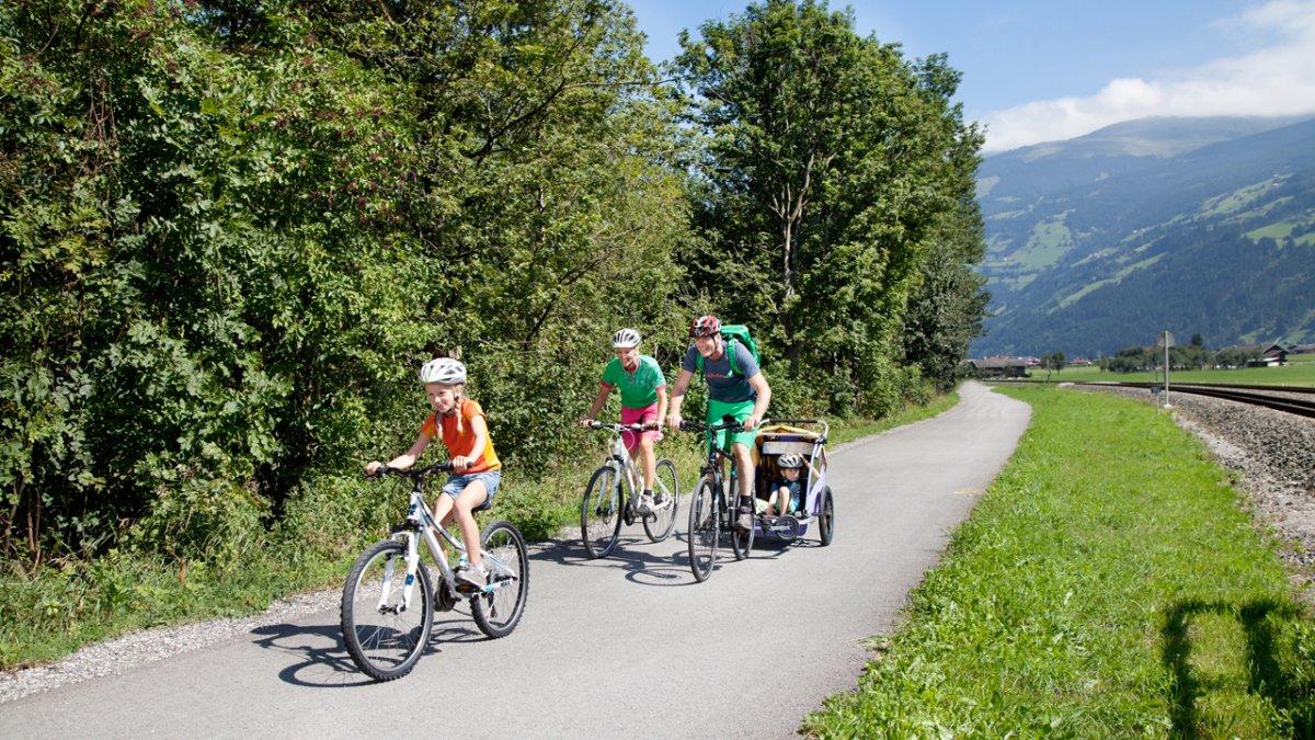 Zillertalradweg, © Zillertal Tourismus/blickfang-photographie.com