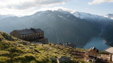 Die Olperer Hütte, © Tirol Werbung/Jens Schwarz