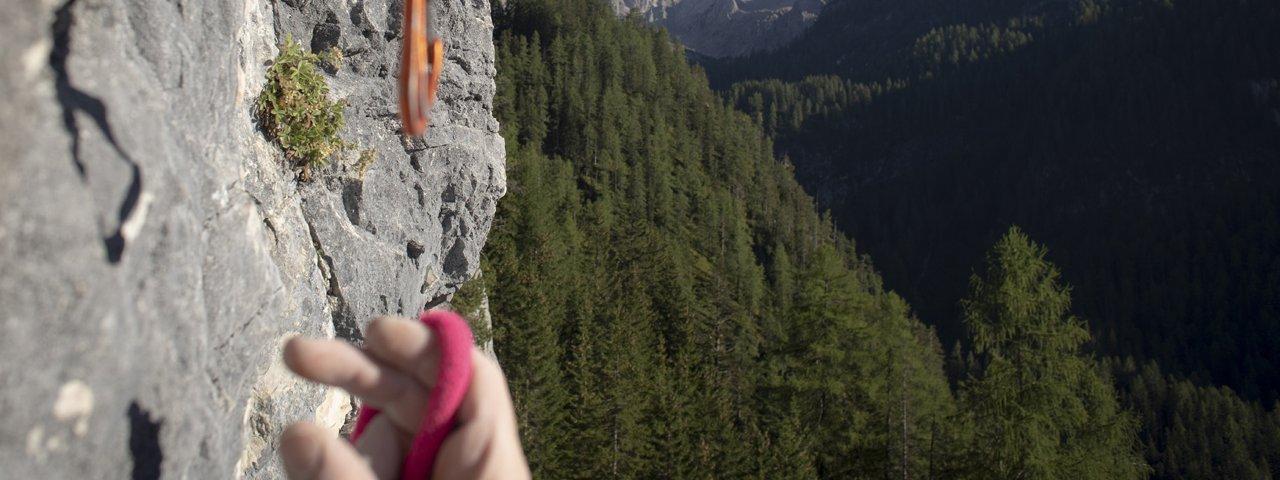 Klettergarten Dolomitenhütte , © Tirol Werbung / Frank Stolle