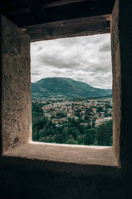 Aussicht vom Schlossturm.