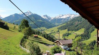 Blick vom Balkon, © Gasthof Roßmoos